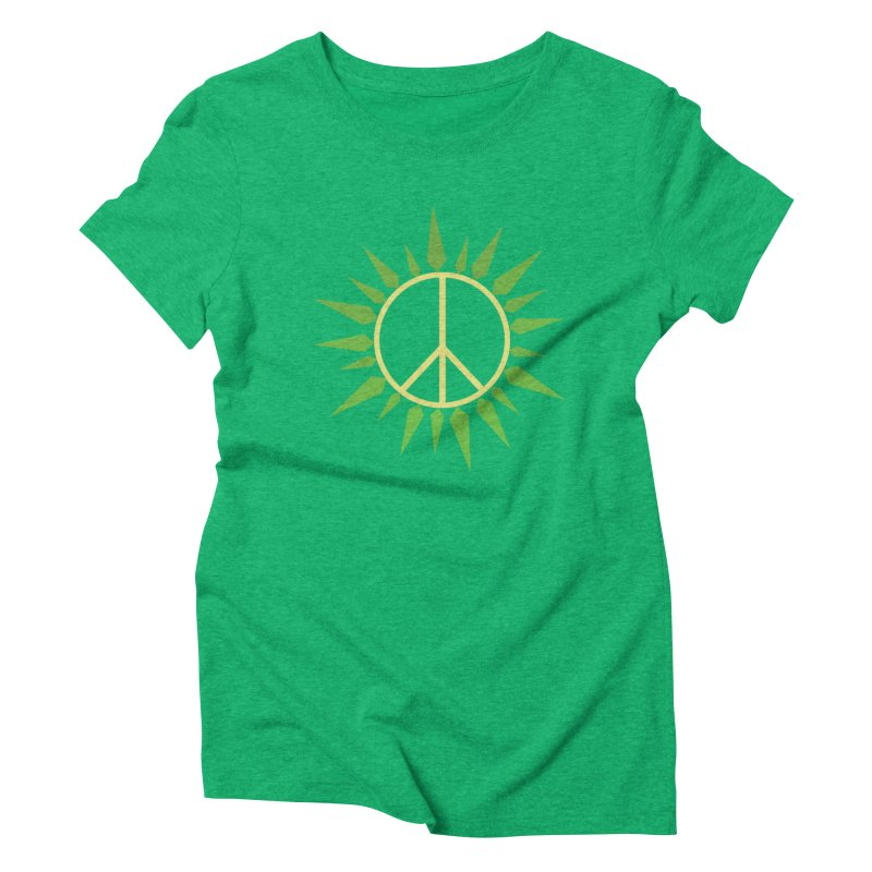 SpringPeace Women's Triblend T-Shirt by cheshire's Artist Shop