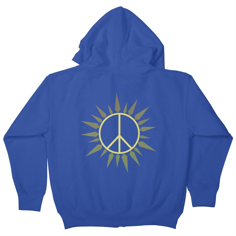 SpringPeace Kids Zip-Up Hoody by cheshire's Artist Shop