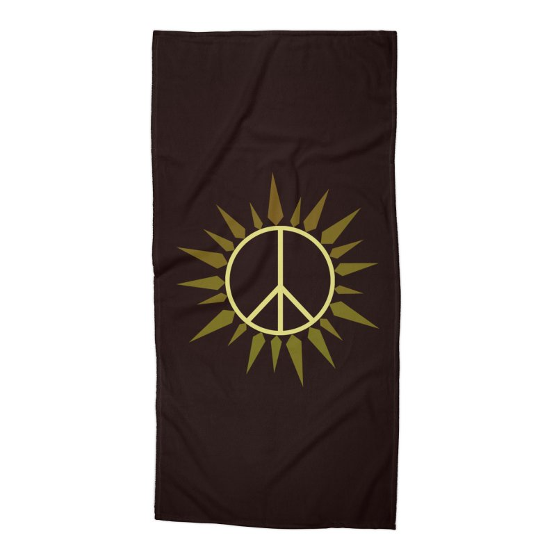 SpringPeace Accessories Beach Towel by cheshire's Artist Shop
