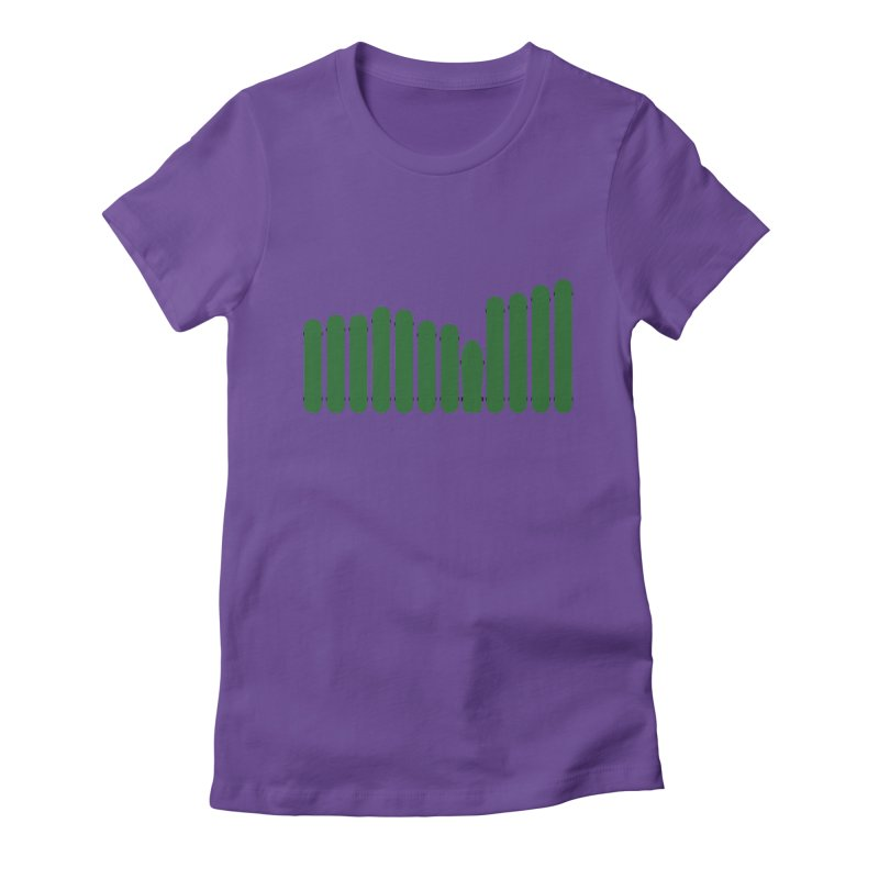 SB Rhythm Women's Fitted T-Shirt by cheshire's Artist Shop