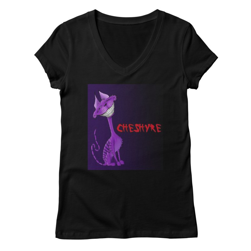 Retro Chesh Women's V-Neck by Cheshyre Attire