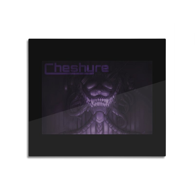Cheshyre Plugged In Home Mounted Aluminum Print by Cheshyre Attire