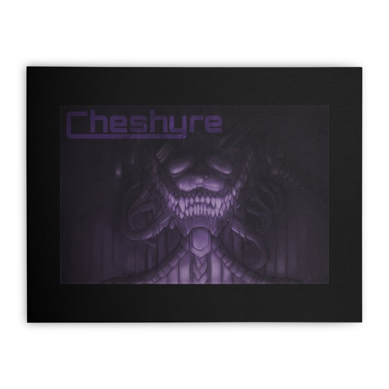 Cheshyre Plugged In Home Stretched Canvas by Cheshyre Attire
