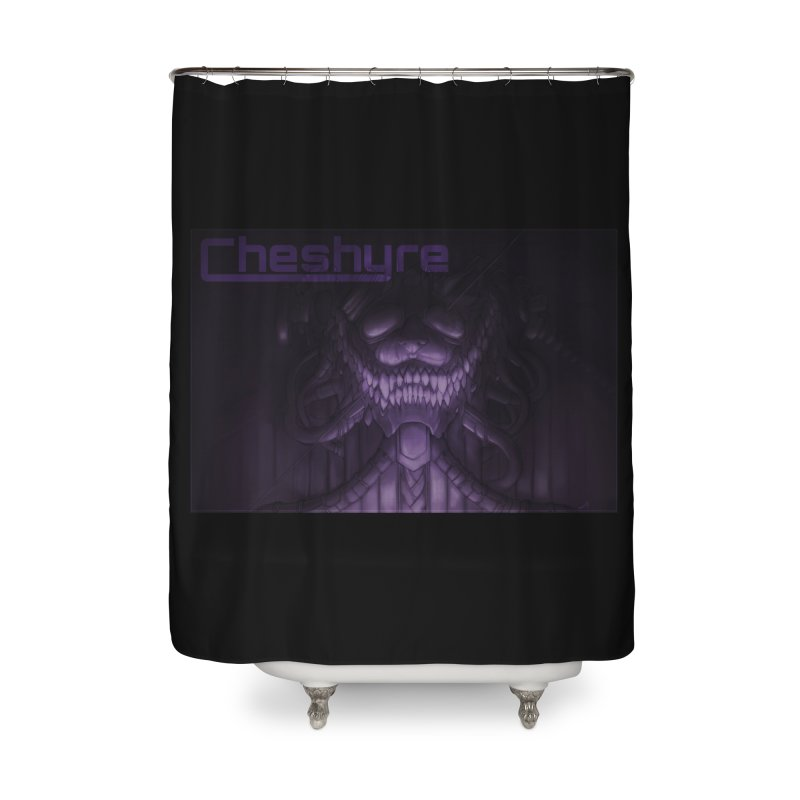 Cheshyre Plugged In Home Shower Curtain by Cheshyre Attire