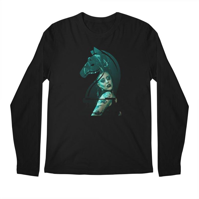 Chess Countess Knight Men's Regular Longsleeve T-Shirt by chessclub's Artist Shop