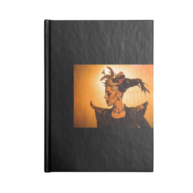 Chess Countess Orange Accessories Lined Journal Notebook by chessclub's Artist Shop