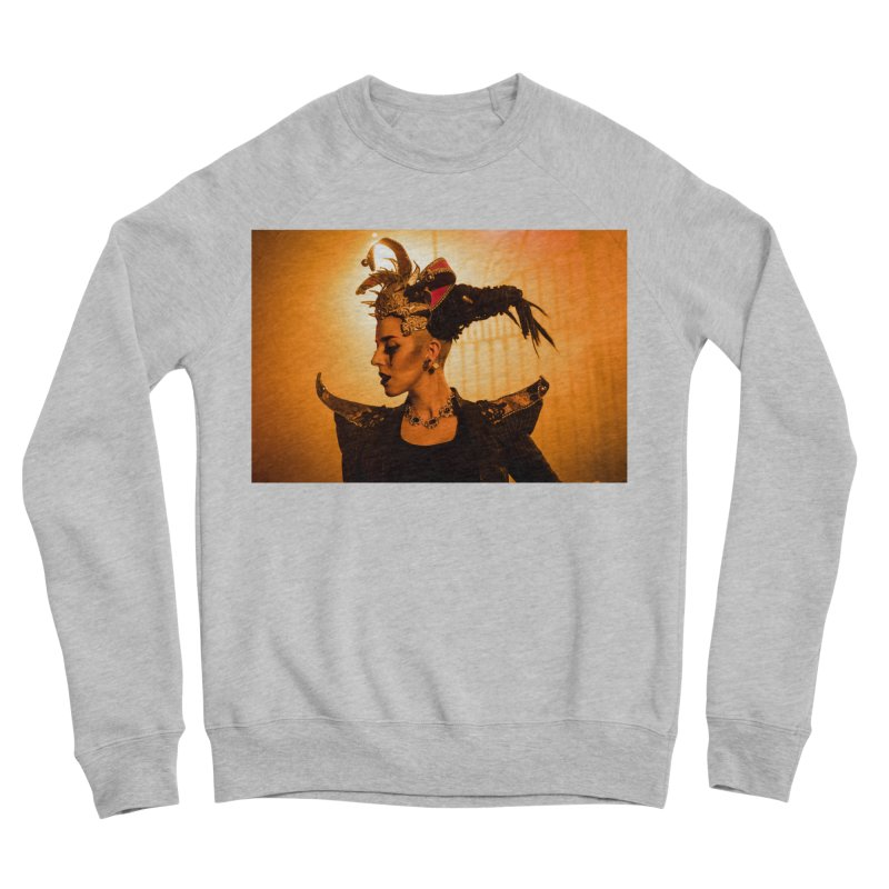 Chess Countess Orange Women's Sponge Fleece Sweatshirt by chessclub's Artist Shop