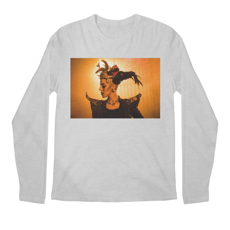 Chess Countess Orange Men's Regular Longsleeve T-Shirt by chessclub's Artist Shop
