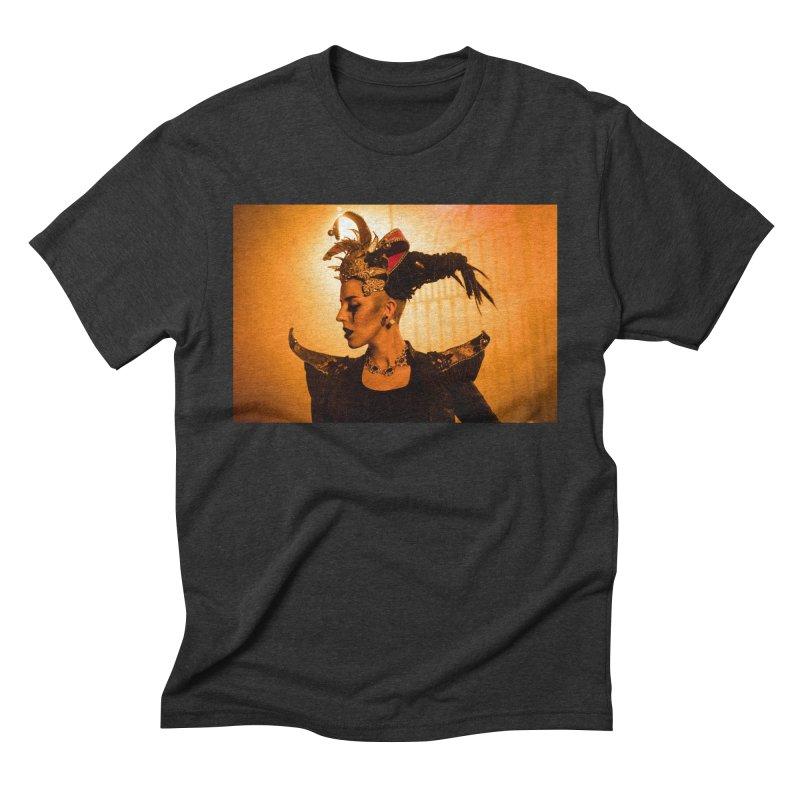 Chess Countess Orange Men's Triblend T-Shirt by chessclub's Artist Shop