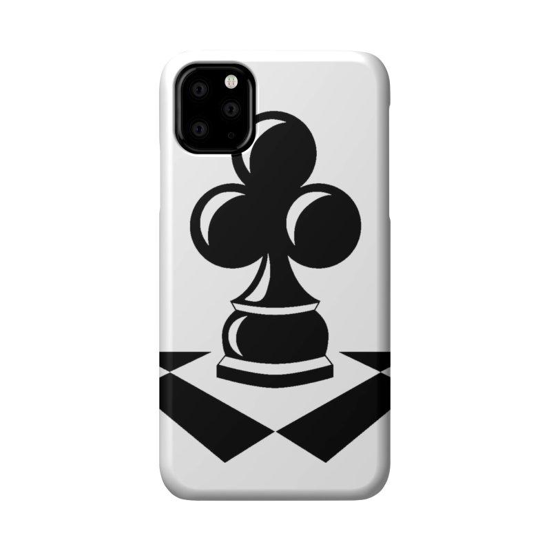 Chess Club Black Accessories Phone Case by chessclub's Artist Shop