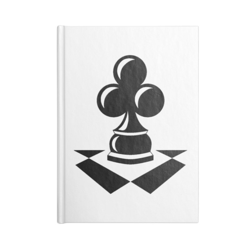Chess Club Black Accessories Lined Journal Notebook by chessclub's Artist Shop
