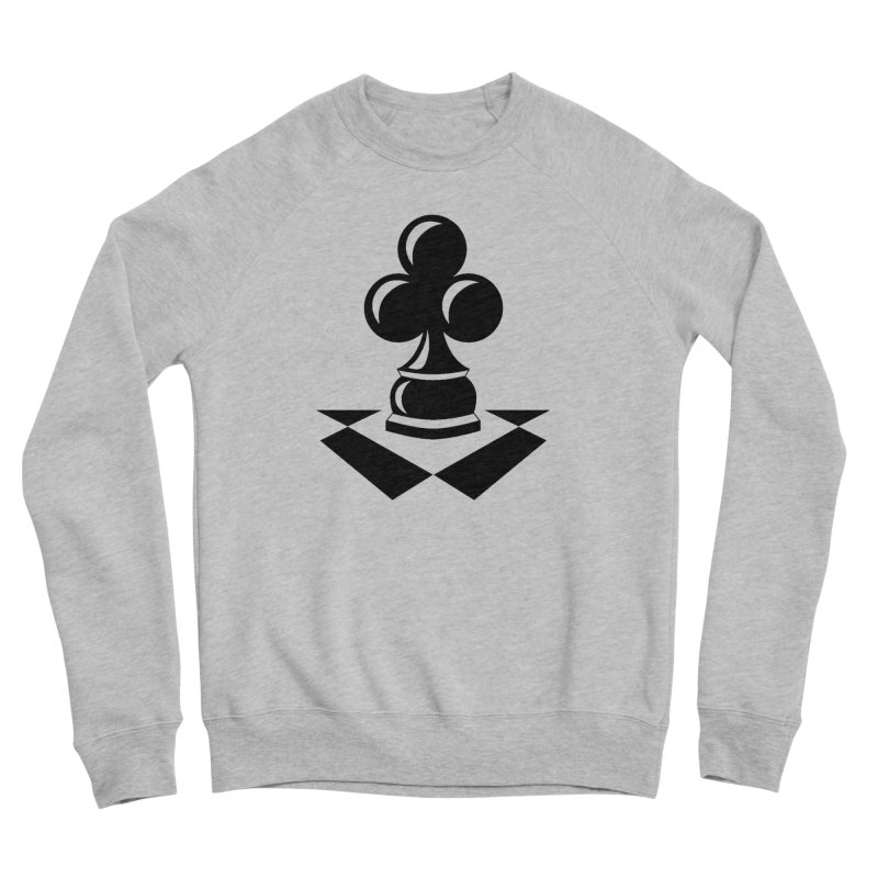 Chess Club Black Men's Sponge Fleece Sweatshirt by chessclub's Artist Shop