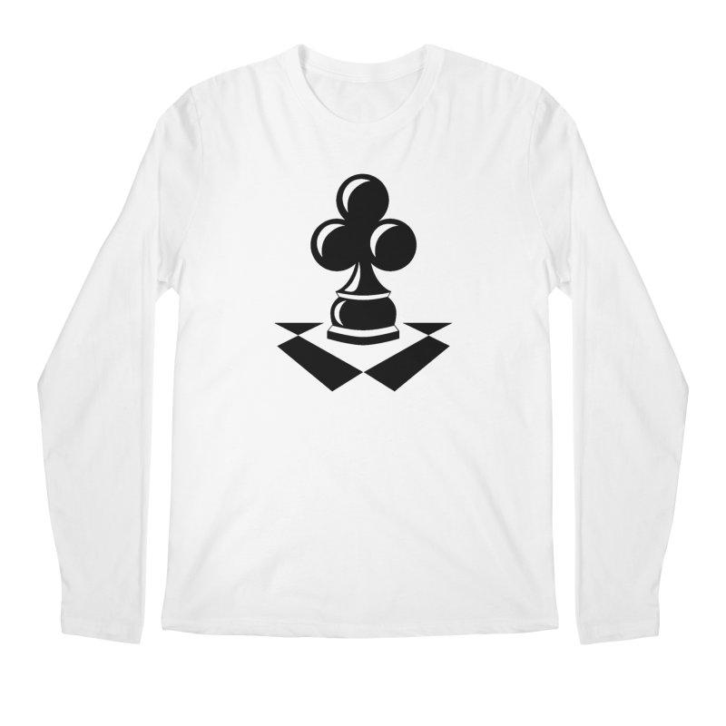 Chess Club Black Men's Regular Longsleeve T-Shirt by chessclub's Artist Shop