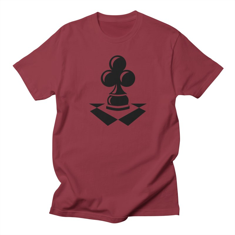 Chess Club Black Men's Regular T-Shirt by chessclub's Artist Shop