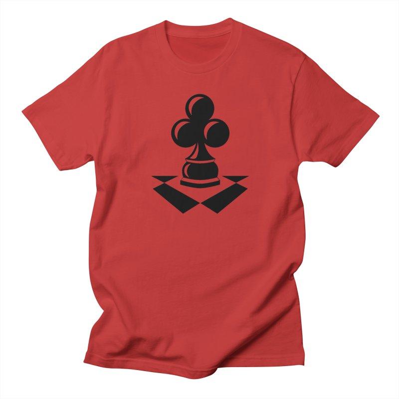 Chess Club Black Women's Regular Unisex T-Shirt by chessclub's Artist Shop