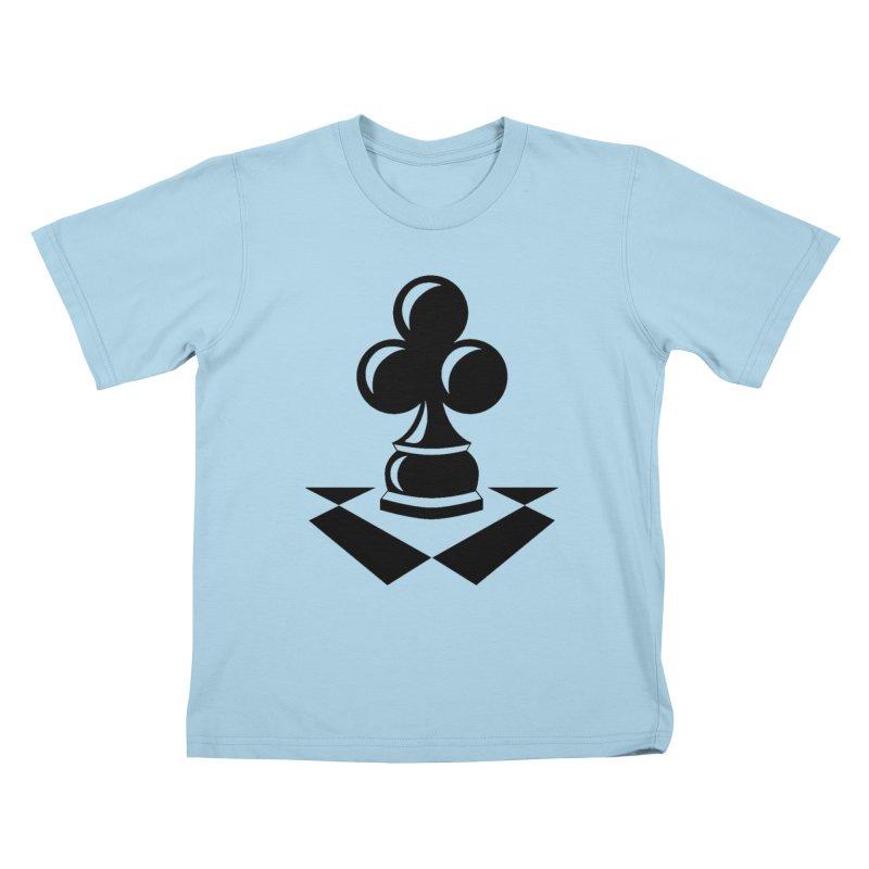 Chess Club Black Kids T-Shirt by chessclub's Artist Shop
