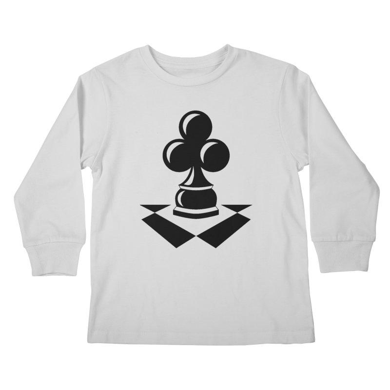 Chess Club Black Kids Longsleeve T-Shirt by chessclub's Artist Shop