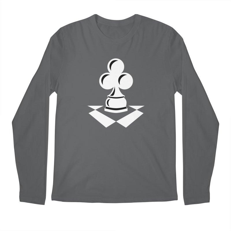 Chess Club White Men's Regular Longsleeve T-Shirt by chessclub's Artist Shop