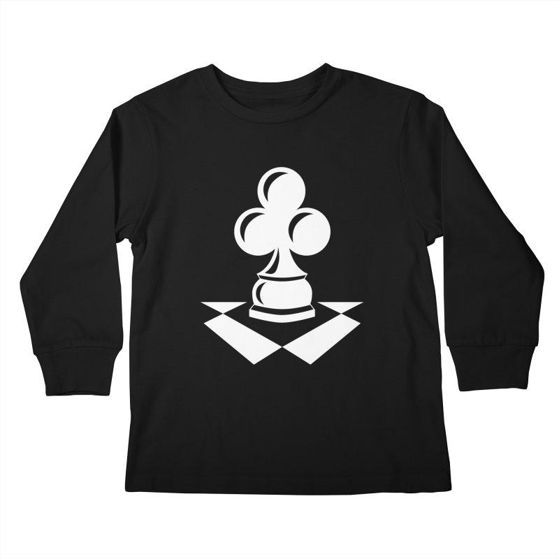 Chess Club White Kids Longsleeve T-Shirt by chessclub's Artist Shop