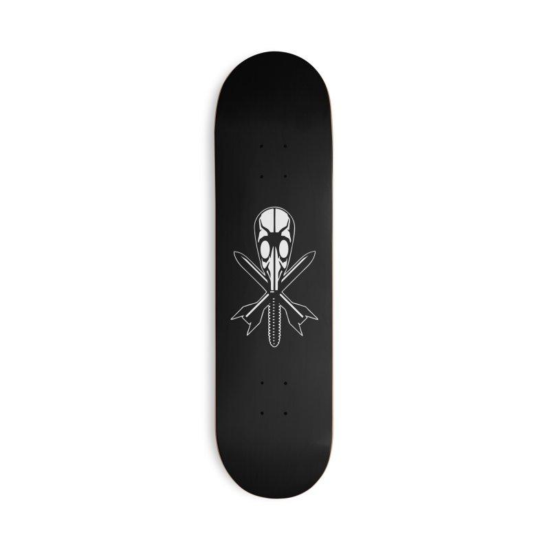 Chet Zar gas mask Accessories Skateboard by chetzar's Artist Shop