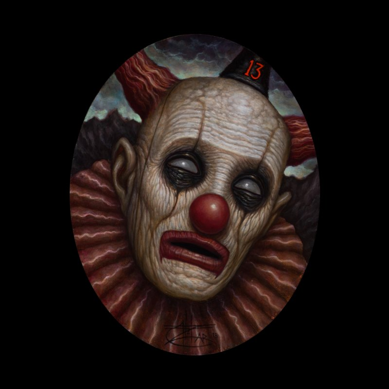 Clown 13 Home Blanket by chetzar's Artist Shop