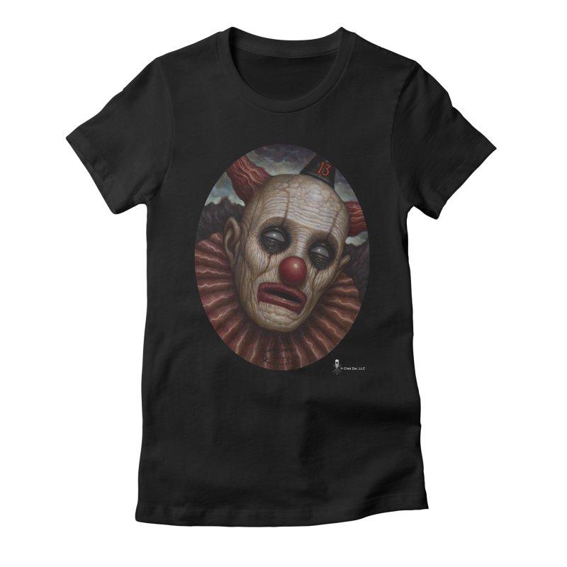 Clown 13 Women's T-Shirt by chetzar's Artist Shop