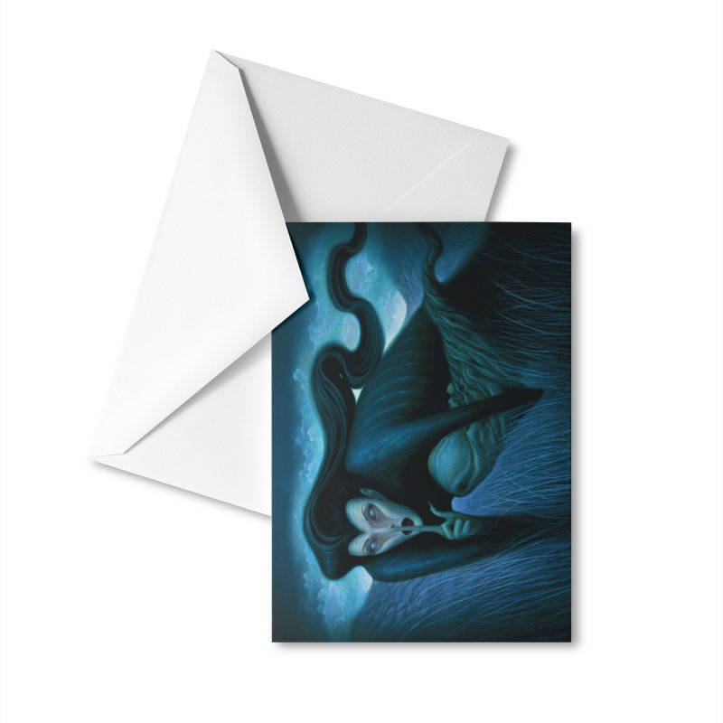 Lilith Accessories Greeting Card by chetzar's Artist Shop