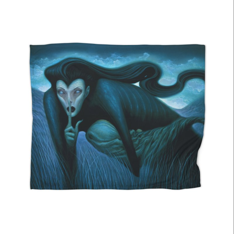 Lilith Home Blanket by chetzar's Artist Shop