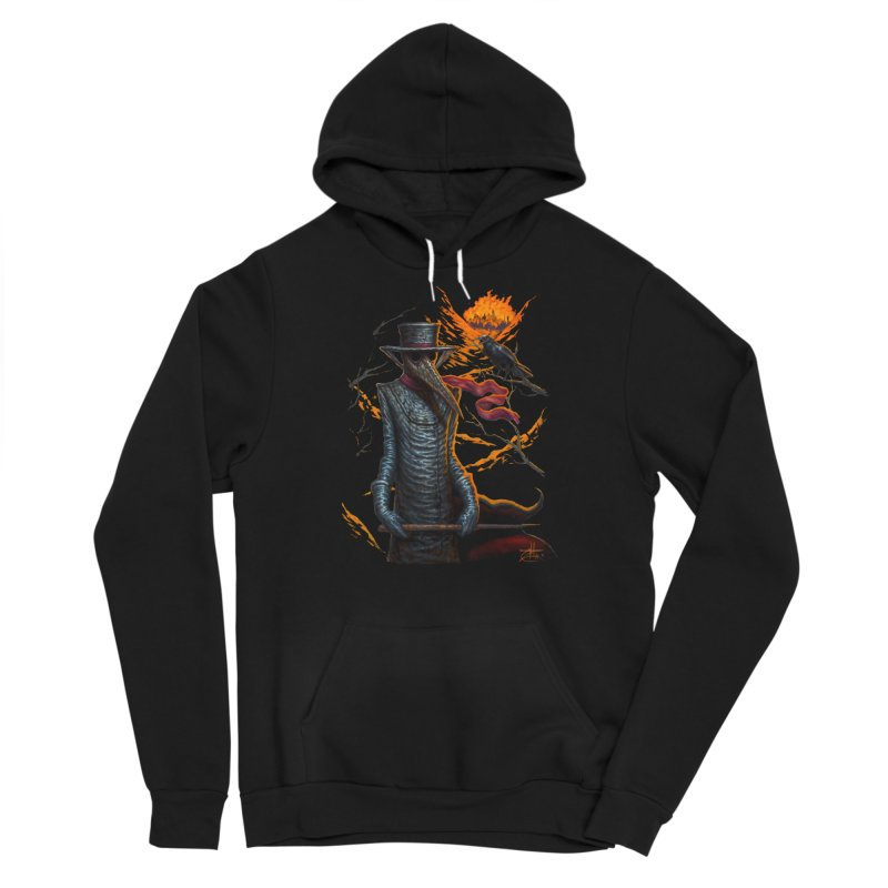 Plague Doctor Men's Pullover Hoody by chetzar's Artist Shop