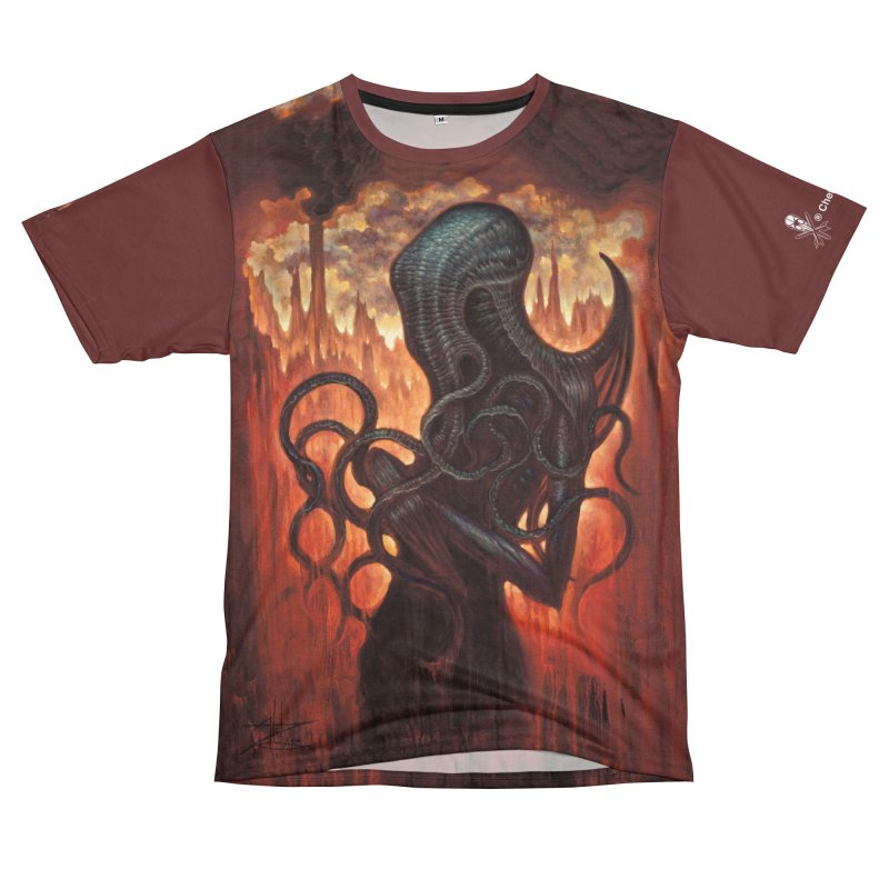 Cthulhu Women's Cut & Sew by chetzar's Artist Shop