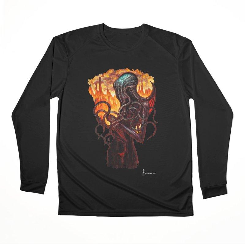 Cthulhu Women's Longsleeve T-Shirt by chetzar's Artist Shop