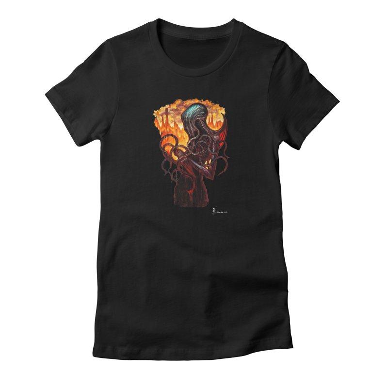 Cthulhu Women's T-Shirt by chetzar's Artist Shop