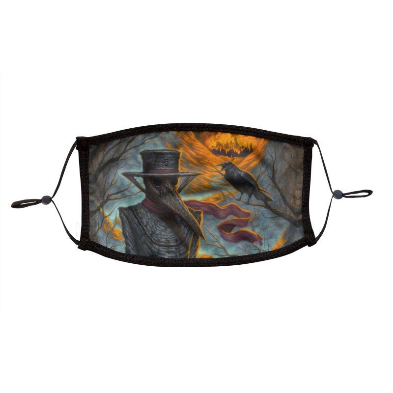 Plague Doctor Mask Accessories Face Mask by chetzar's Artist Shop