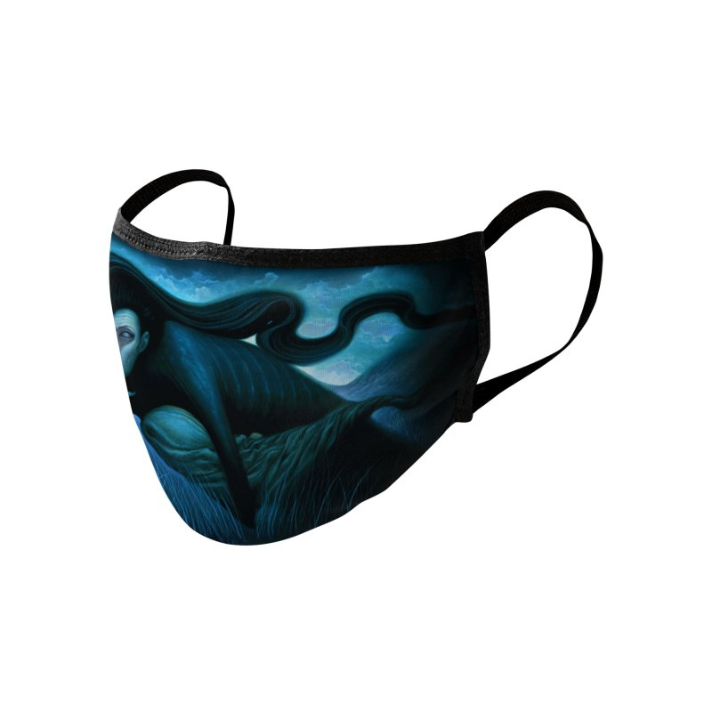 Lilith Mask Accessories Face Mask by chetzar's Artist Shop