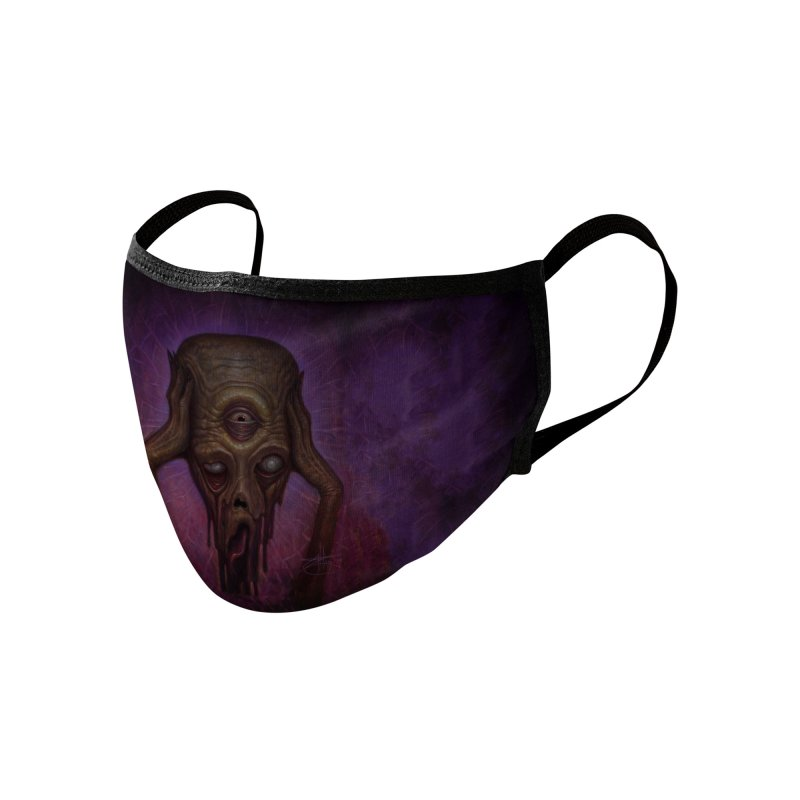 Melt Accessories Face Mask by chetzar's Artist Shop
