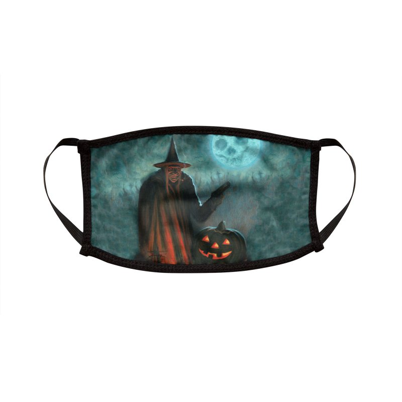 Criminal Witch Accessories Face Mask by chetzar's Artist Shop