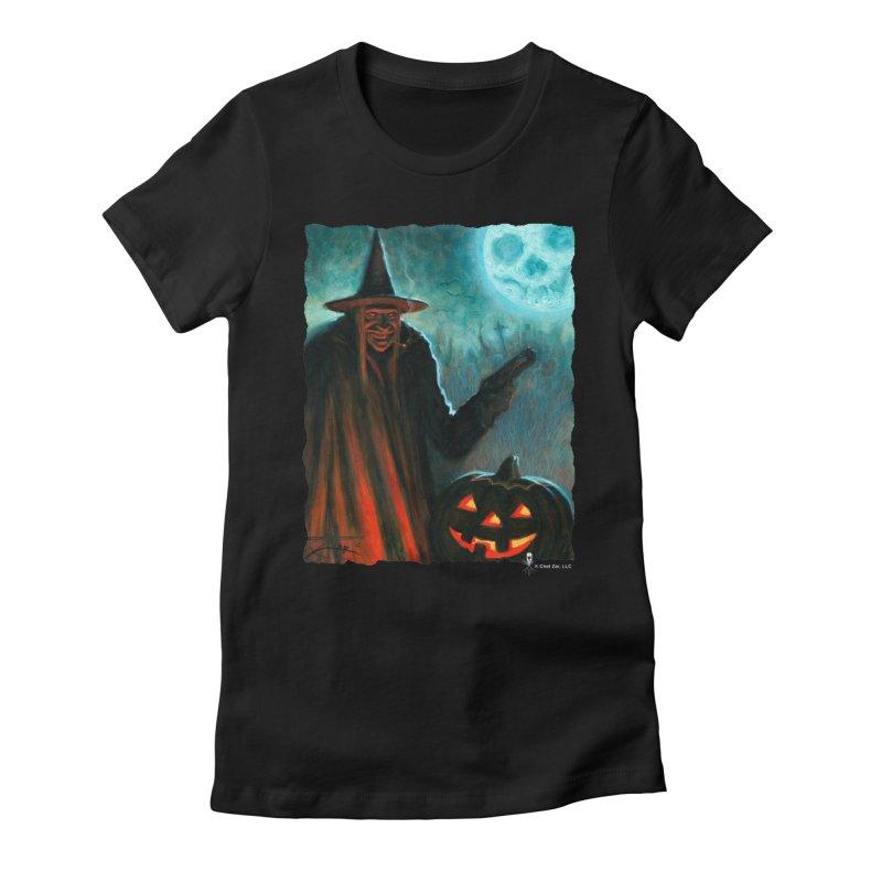 Criminal Witch Women's T-Shirt by chetzar's Artist Shop