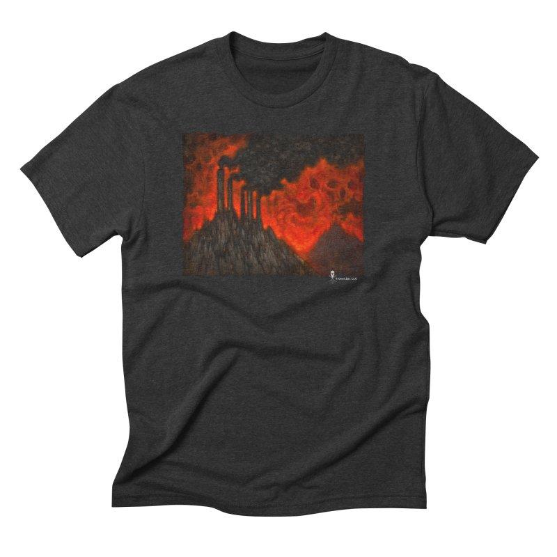 Dy5topia Men's T-Shirt by chetzar's Artist Shop