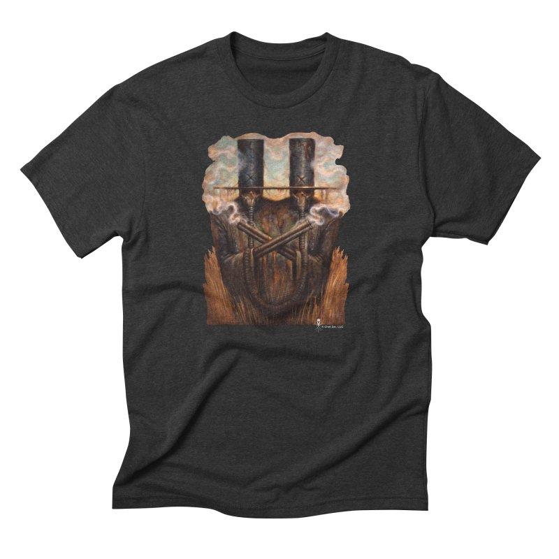 Double. Whammy Men's T-Shirt by chetzar's Artist Shop