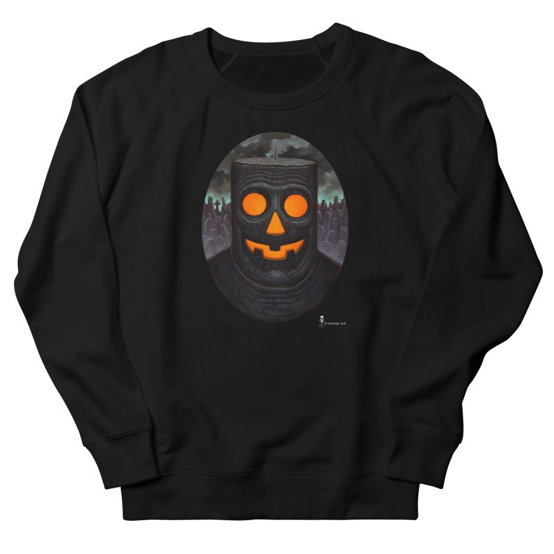 Halloween Robot Women's Sweatshirt by chetzar's Artist Shop