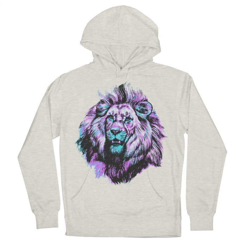 The Neon King Women's French Terry Pullover Hoody by chevsy's Artist Shop