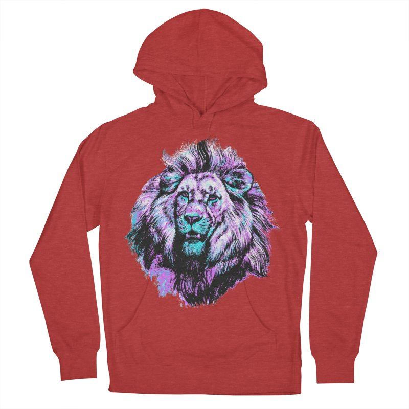 The Neon King Men's Pullover Hoody by chevsy's Artist Shop