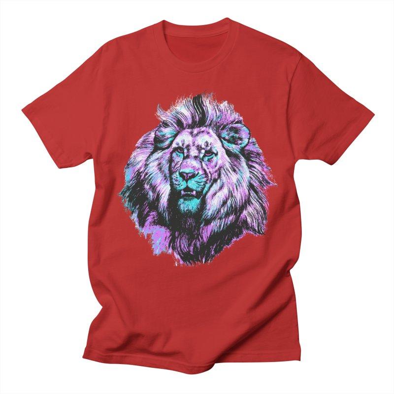 The Neon King Men's T-shirt by chevsy's Artist Shop