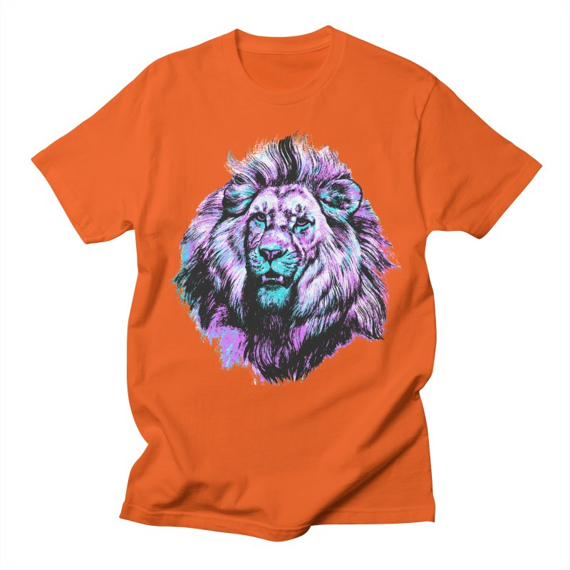 The Neon King Men's T-shirt by chevsy's Artist Shop
