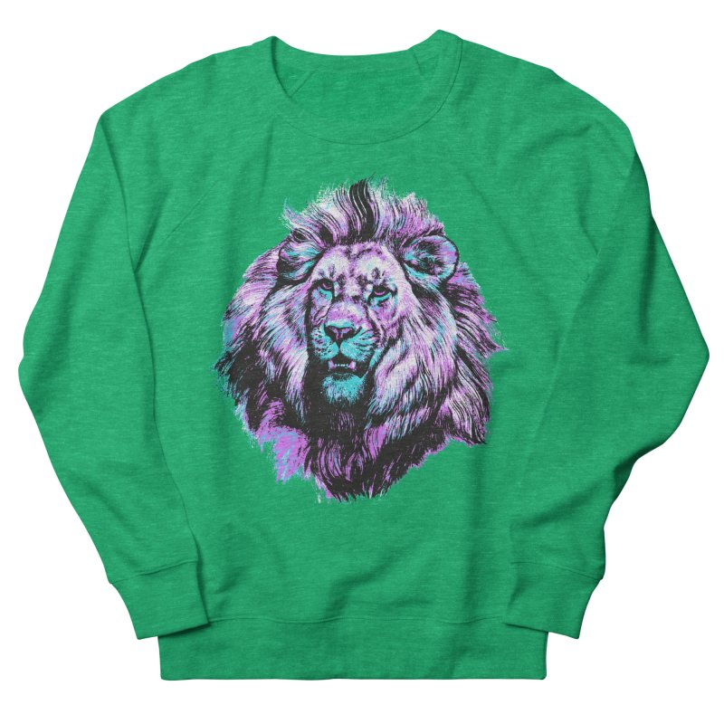 The Neon King Women's Sweatshirt by chevsy's Artist Shop