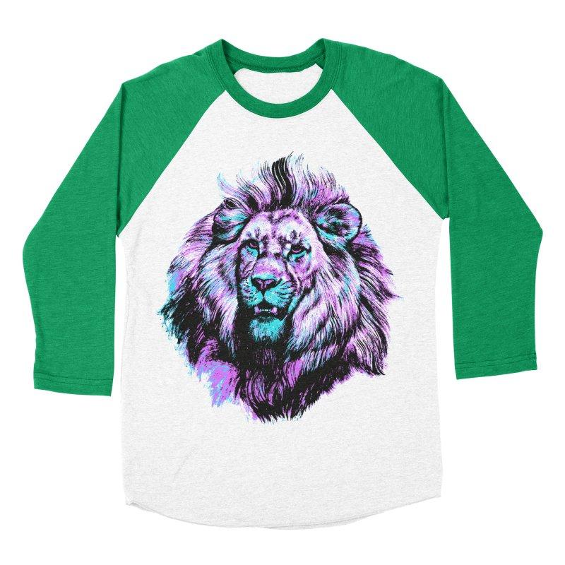 The Neon King Women's Baseball Triblend T-Shirt by chevsy's Artist Shop