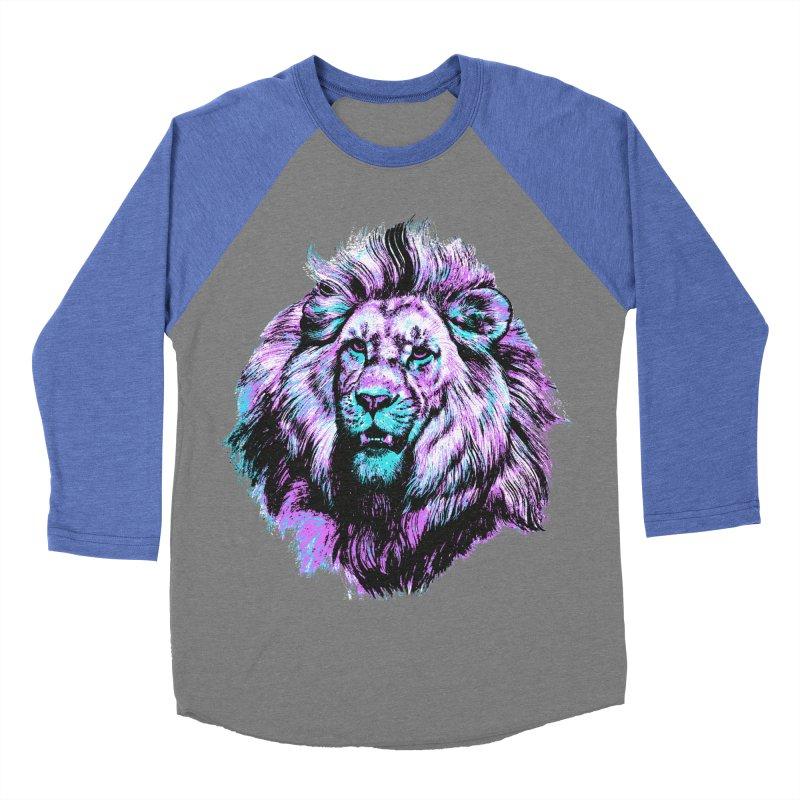 The Neon King Women's Baseball Triblend Longsleeve T-Shirt by chevsy's Artist Shop