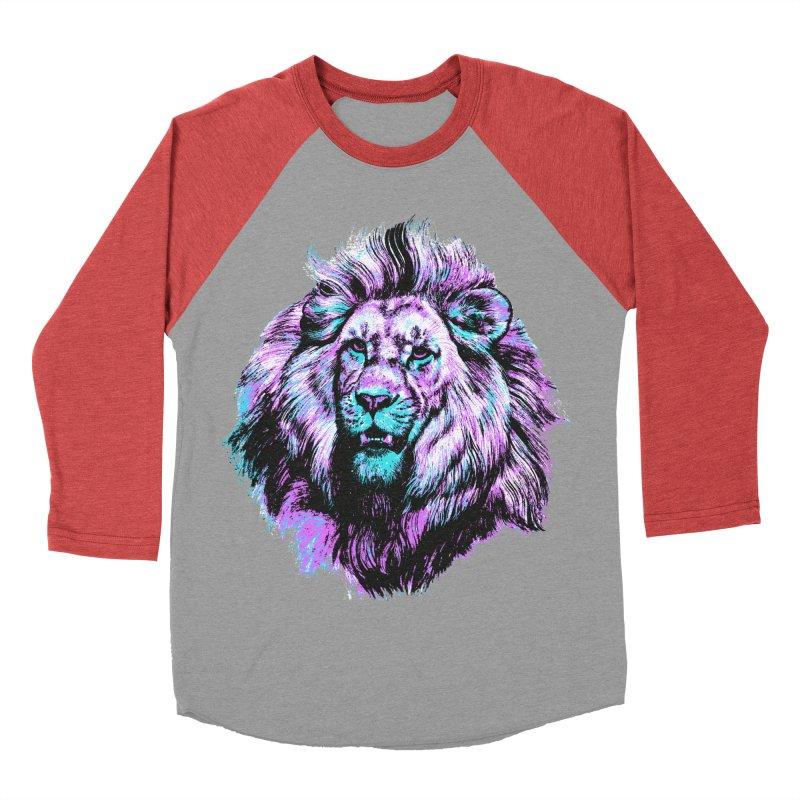 The Neon King Men's Longsleeve T-Shirt by chevsy's Artist Shop