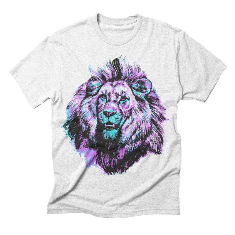 The Neon King Men's Triblend T-shirt by chevsy's Artist Shop