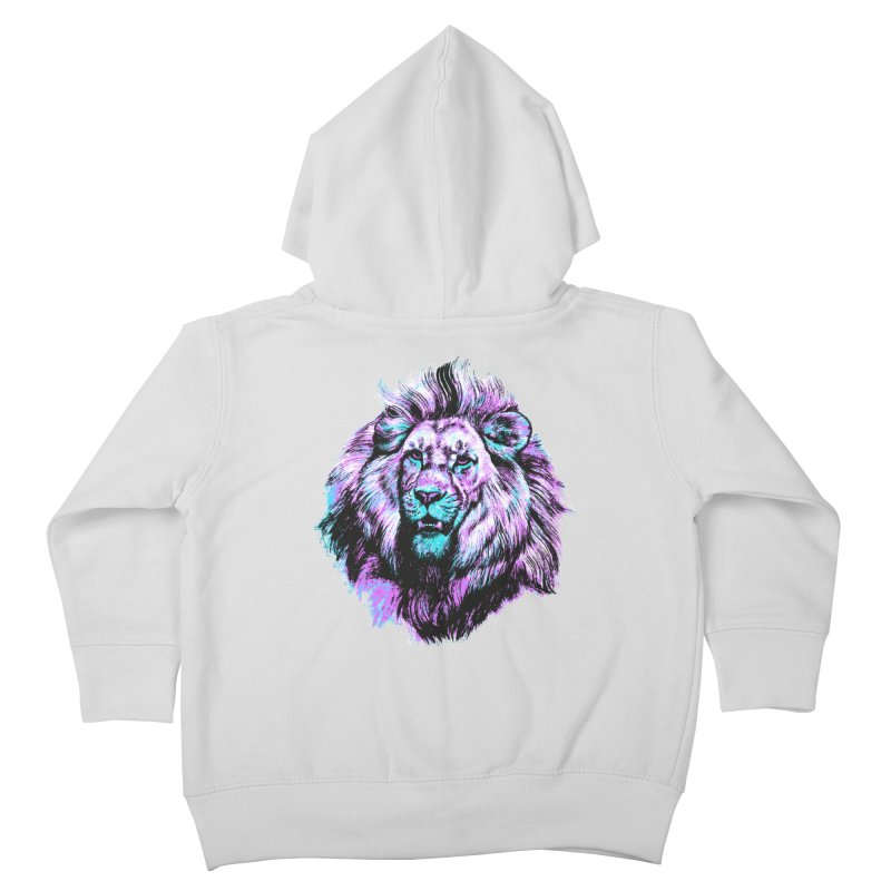 The Neon King Kids Toddler Zip-Up Hoody by chevsy's Artist Shop